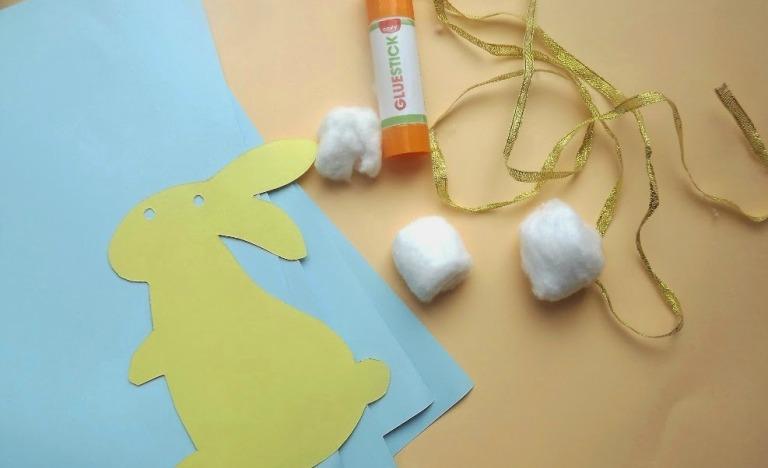 Easter Bunny Garland Craft