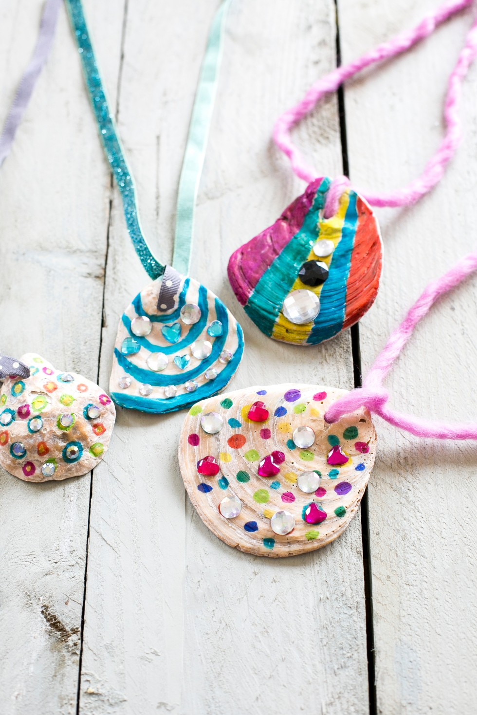 Shell Necklaces Craft Activity