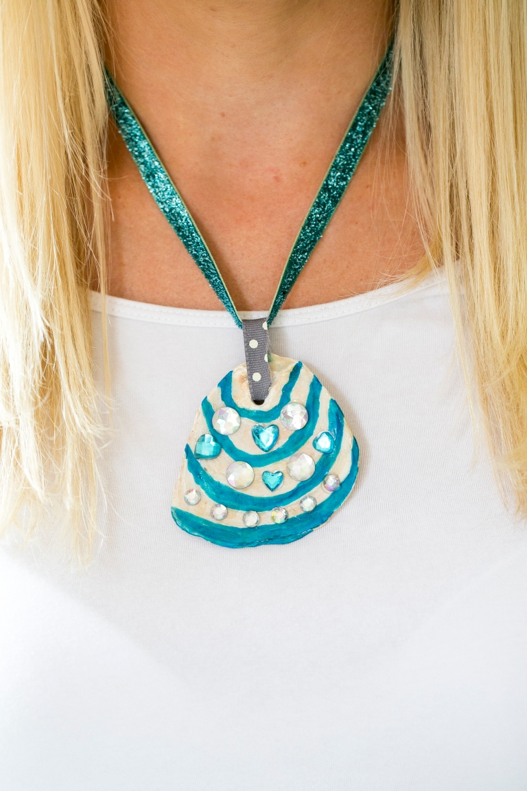 Make a shell necklace